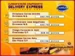 Finalistas Campeonato Delivery Express
